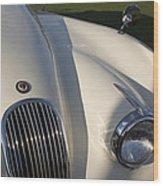 1954 Jaguar Xk 120 Se Roadster Wood Print