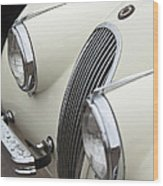 1954 Jaguar Xk120 Roadster Grille Wood Print