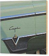 1954 Lincoln Capri Wood Print