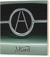 1955 Allard J2r Emblem Wood Print