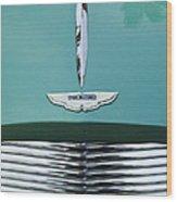 1955 Aston Martin Grille Emblem Wood Print