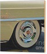 1955 Cadillac 2 Wood Print