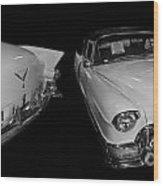 1955 Cadillac Series 62 El Dorado Convertible Wood Print