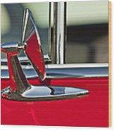 1955 Chevrolet 210 Rear View Mirror Wood Print