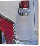 1955 Chevrolet 210 Taillight Wood Print