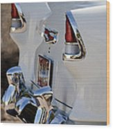 1955 Chevrolet 210 Taillights Wood Print