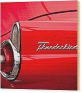 1955 Ford Thunderbird Wood Print