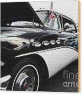 1956 Buick Century Profile 2 Wood Print