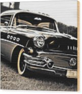 1956 Buick Super Series 50 Wood Print by Phil 'motography' Clark
