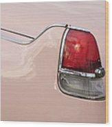 1956 Cadillac Taillight Wood Print