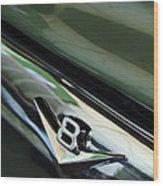 1956 Ford F-100 Truck Emblem 3 Wood Print