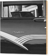 1956 Ford Fairlane Club Sedan Wood Print