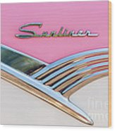 1956 Ford Fairlane Sunliner Wood Print