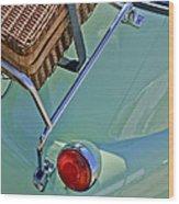 1957 Bmw Isetta 300 Motocoupe Taillight Wood Print