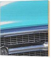 1957 Chevrolet Bel Air Classic Car Panoramic Fine Art Photo  Wood Print