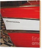 1957  Chevrolet  Wood Print