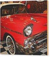 1957 Chevy  Wood Print