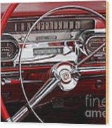 1957 Dash Wood Print