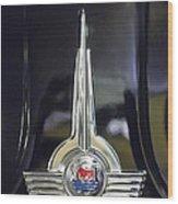 1957 Morris Minor 1000 Traveller Emblem Wood Print