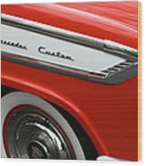 1957 Nash Ambassador Custom Wood Print