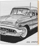 Oldsmobile Super 88 Wood Print