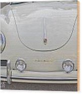 1957 Porsche Speedster Antique Car Wood Print
