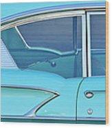 1958 Chevrolet Belair Wood Print