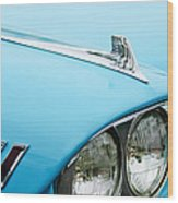 1958 Chevrolet Impala Fender Spear Wood Print