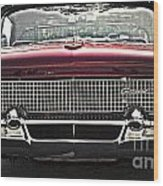 1958 Lincoln Continental Wood Print