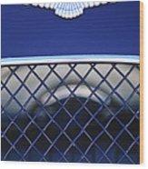 1959 Aston Martin Jaguar C-type Roadster Emblem Wood Print