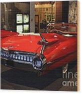 1959 Cadillac Convertible - 7d17376 Wood Print by Wingsdomain Art and Photography