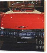1959 Cadillac Convertible - 7d17377 Wood Print by Wingsdomain Art and Photography