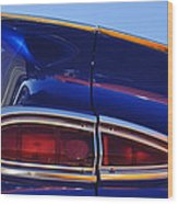 1959 Chevrolet El Camino Taillight Wood Print