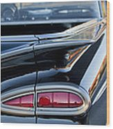 1959 Chevrolet Taillight Wood Print