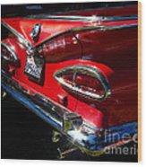 1959 Chevy El Camino  Wood Print
