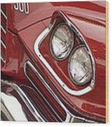 1959 Chrysler 300 Headlight Wood Print