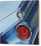 1959 Ford Skyliner Convertible Taillight Wood Print