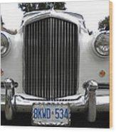 1960 Bentley Front Wood Print