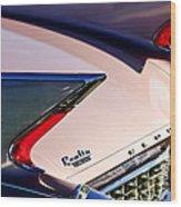 1960 Cadillac Eldorado Taillights Wood Print