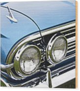 1960 Chevrolet Impala Front End Wood Print