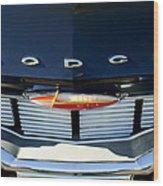 1960 Dodge Grille Emblem Wood Print