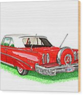 1960 Edsel Ranger Continental Kit Wood Print