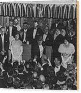 1960 Inaugural Ball. President Kennedy Wood Print