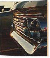 1960's Mercury Wood Print