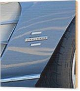 1961 Chevrolet Corvette Zob  Wood Print