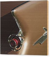 1961 Chrysler Imperial Taillight Wood Print