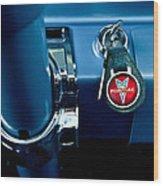 1961 Pontiac Catalina Key Ring Wood Print
