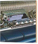1961 Pontiac Catalina Radio Wood Print