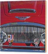 1962 Austin-healey 3000 Mkii Grille Wood Print