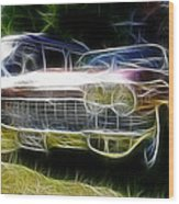1962 Caddy Cadillac Wood Print